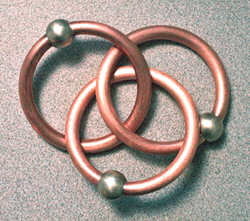 Seed of Life Borromean Rings